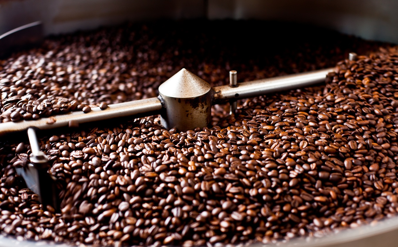 Hạt cà phê sau khi được xử lí