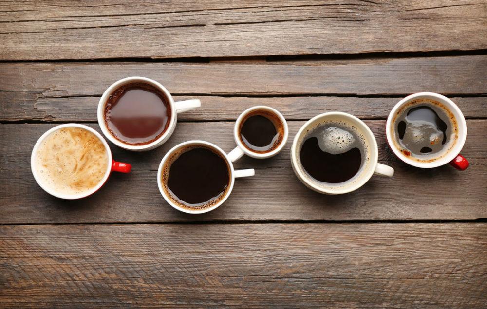 Màu sắc cà phê khác nhau khi có hoặc không có phụ phẩm