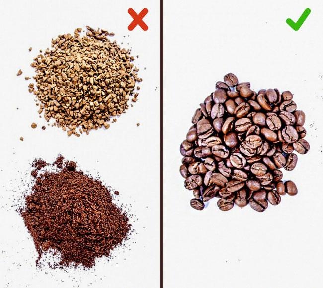 Cà phê rang xay nguyên chất bị làm giả