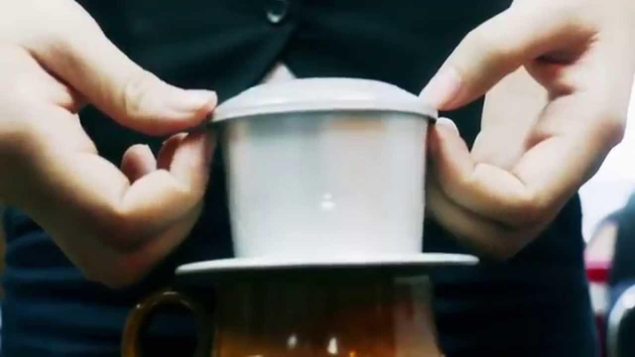 Cách pha cà phê phin
