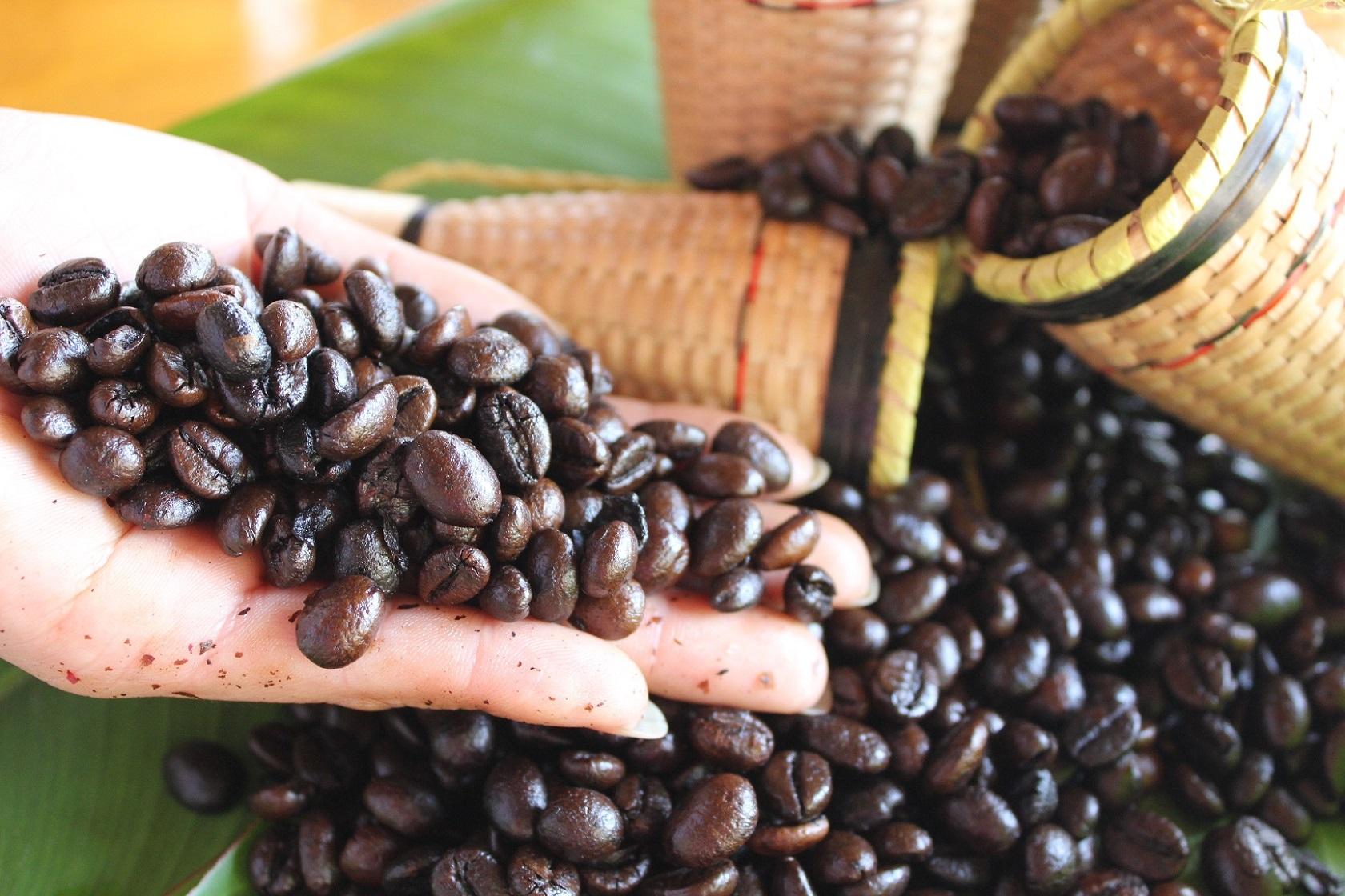 Hạt cà phê sạch nguyên chất
