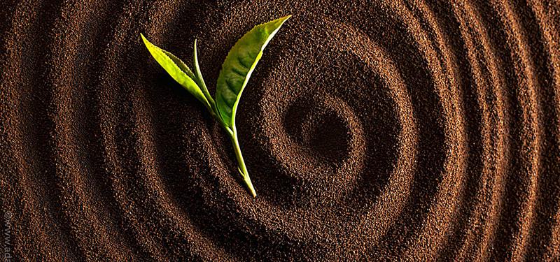 Bột cà phê nguyên chất sẽ nhẹ hơn bột đậu, ngô