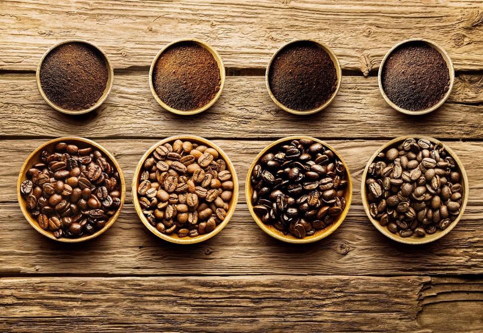 Phân biệt cà phê qua màu sắc