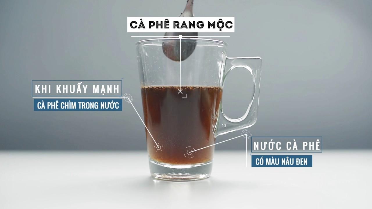 Nhận biết cà phê pin