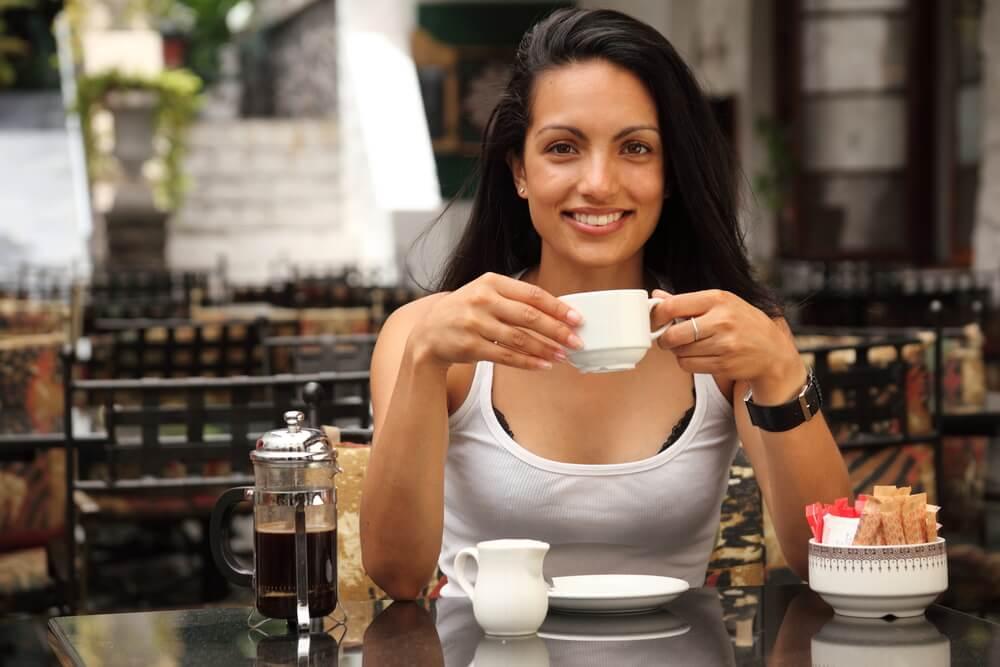 Cà phê là thức uống nổi tiếng từ phương Tây.
