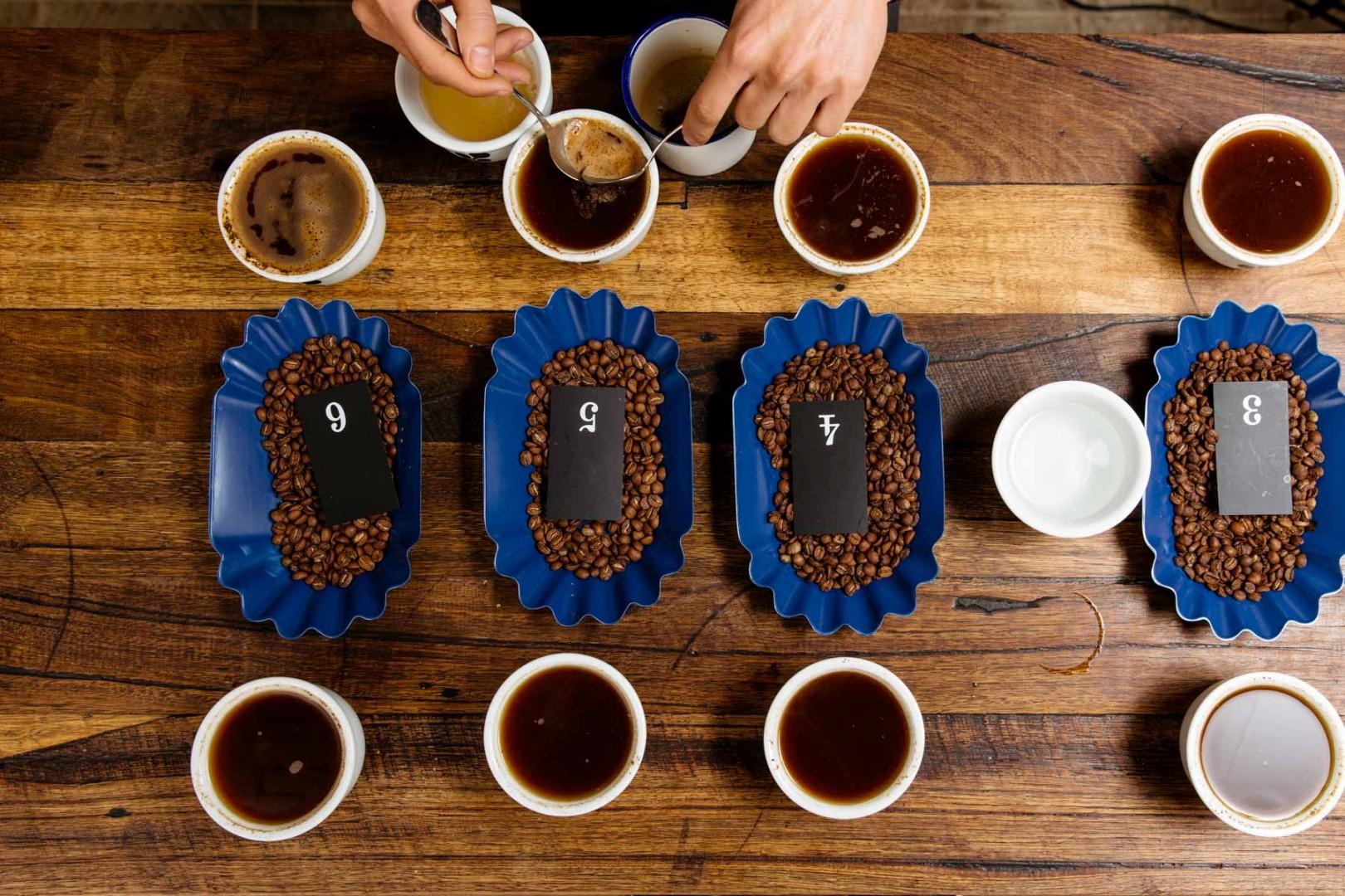 Cà phê có vị ngọt nhẹ khó cảm nhận.