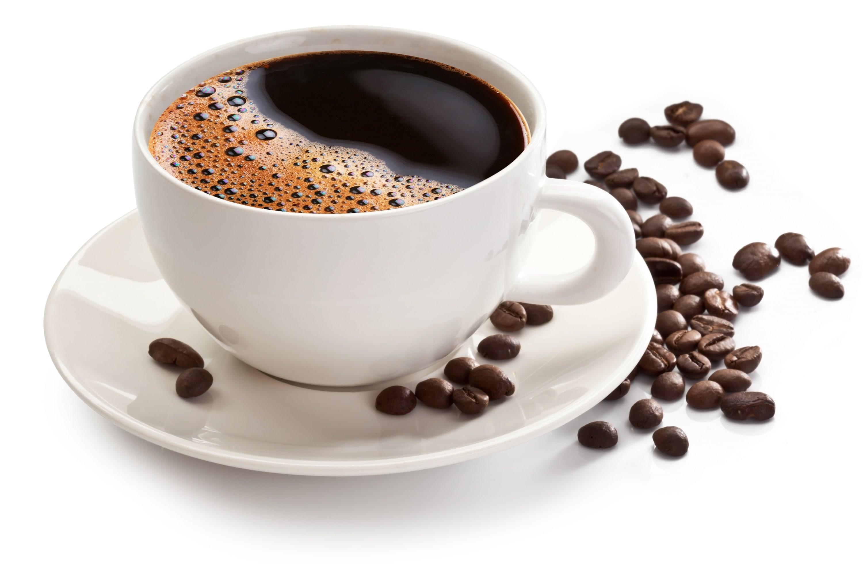 Ly cà phê nguyên chất ngon.