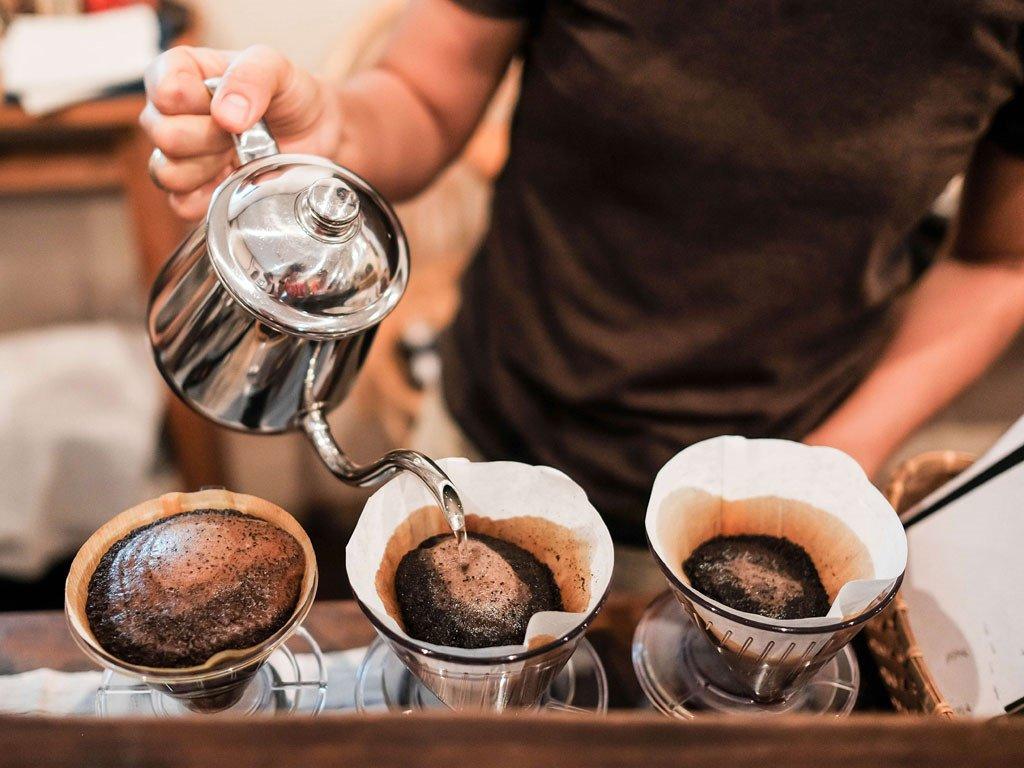 Cà phê Arabica có vị chua quyến rũ.