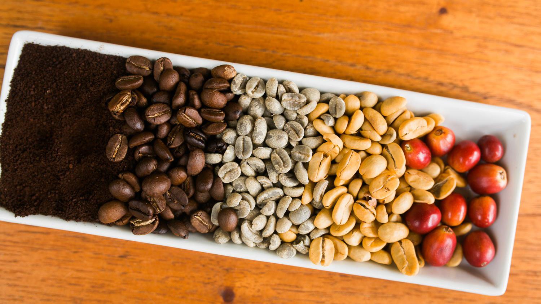 Quy trình sản xuất cà phê sạch.