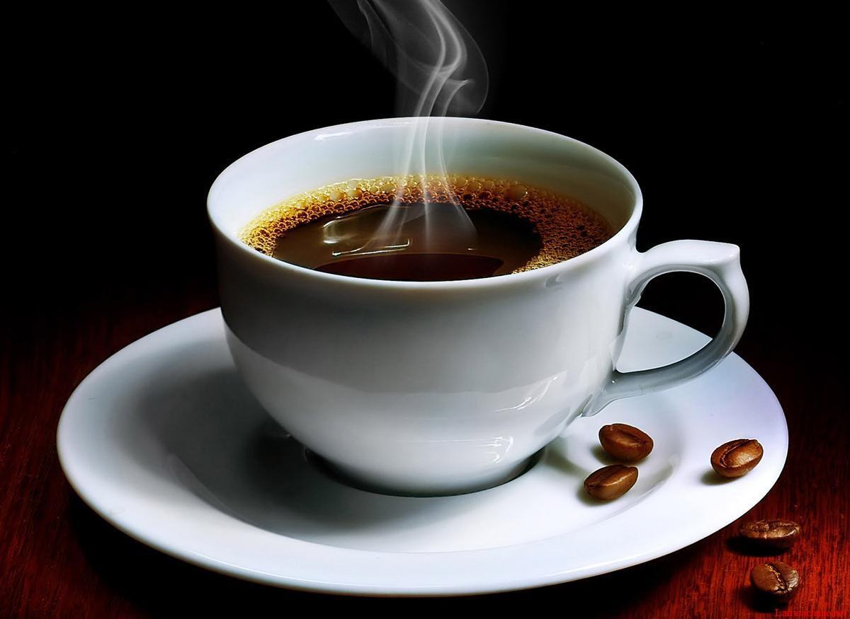 Ly cà phê nguyên chất quyến rũ