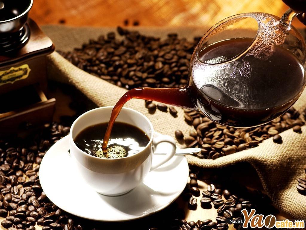 Cà phê Arabica có vị chua thanh và đắng nhẹ