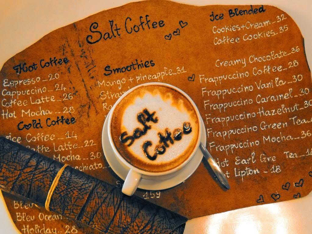Muối giúp hương vị cà phê thêm đậm đà