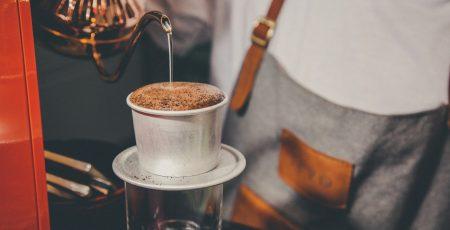 Cách pha cà phê phin thơm ngon