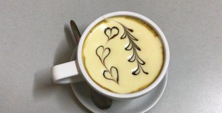 Một tách cà phê trứng quyến rũ