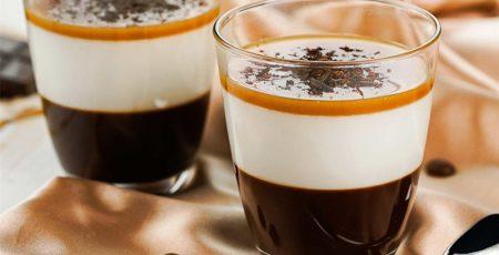 Một ly cà phê sữa tươi độc đáo