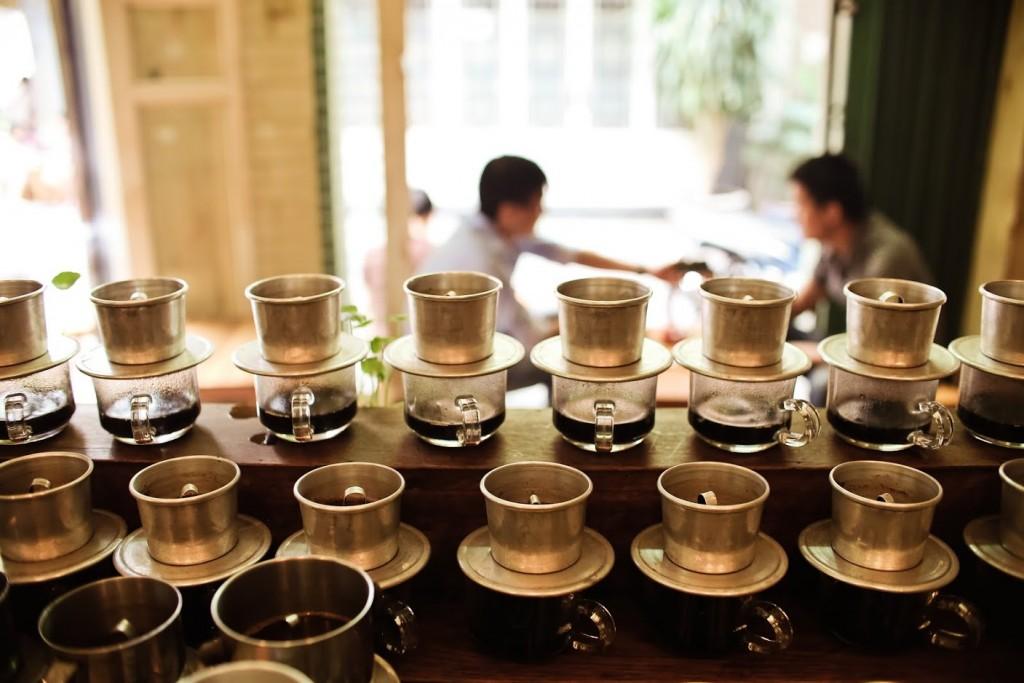 Mẫu phin cà phê thường được sử dụng