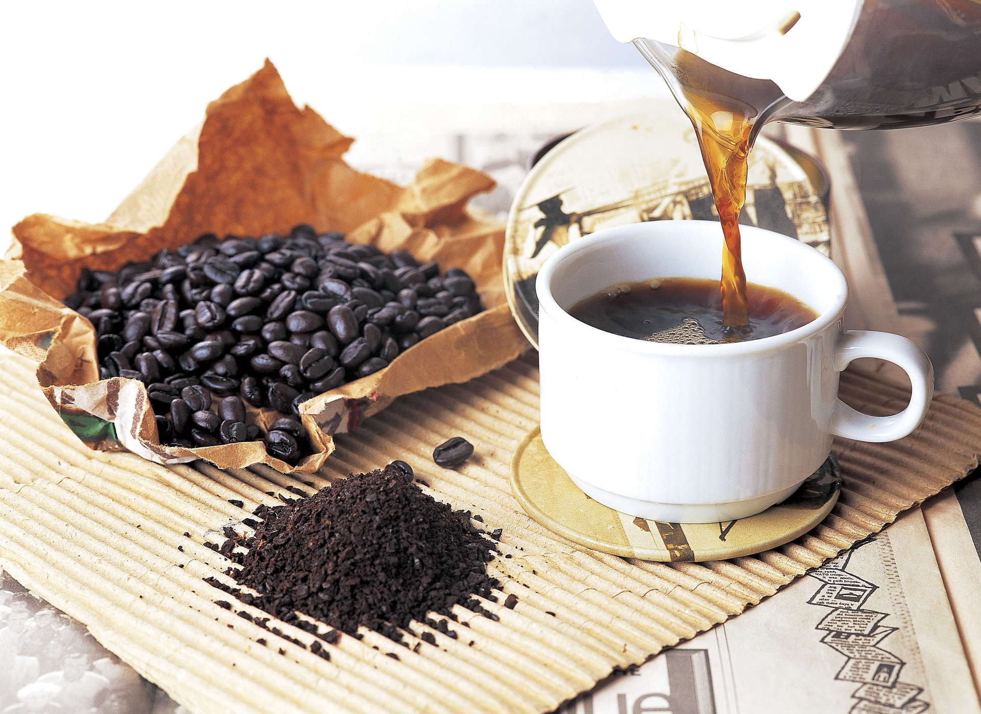 Cà phê có nhiều hương vị đặc trưng khiến người uống say mê